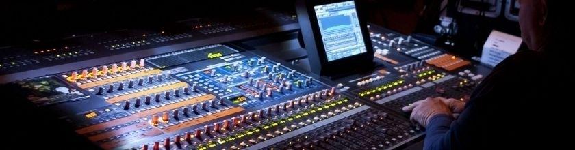 Garso įranga, garso aparatūra, įrašų studijos