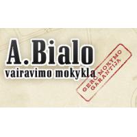 A. Bialo vairavimo mokykla