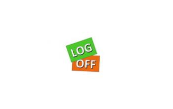 Log off, VŠĮ